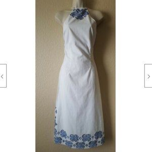 Anthropologie KAS New York Embroidered Dress SNWOT